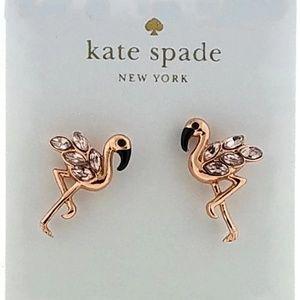 New Golden Pelican Shape Earrings